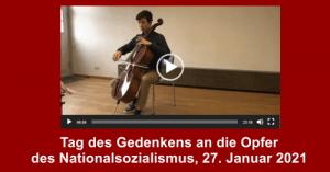 Tag des Gedenkens der Opfer des Nationalsozialismus